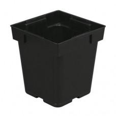 Gro Pro Black Pastic Pot 5 in x 5 in x 6.5 in