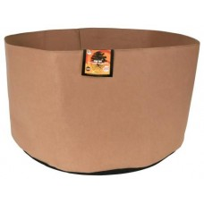 Gro Pro Essential Round Fabric Pot - Tan   200 Gallon
