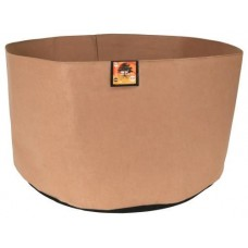 Gro Pro Essential Round Fabric Pot - Tan  400 Gallon