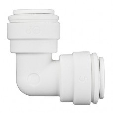 Ideal H2O JG Quick Connect Fitting - Elbow  -     3/8 in - White