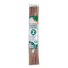 Grower's Edge Natural Bamboo    2 ft - 25/Bag