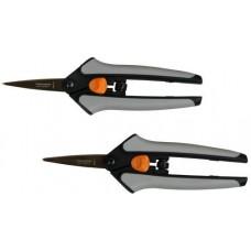 Fiskars Non-Stick Softgrip Micro-Tip Pruning Snip (2/Pk)