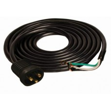 15' 16/3 600V Male Lock & Seal Cord UL