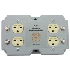 4 Lights/Load Switcher, 240V In, 240V Out, 120V Trigger