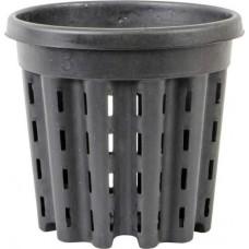 "7"" Round Black Pot 3L (2880/Plt)"