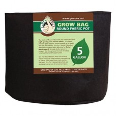 Gro Pro Premium Round Fabric Pot 1000 Gallon